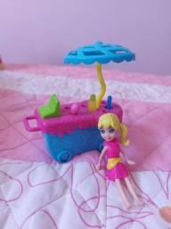 Polly carrinho de sorvete