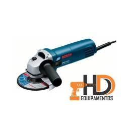 """Esmerilhadeira Angular 4 1/2"""" Bosch GWS 6-115 - 670W -127V Professional"""