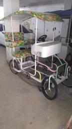 Bicicleta 4 rodas (quadriciclo) - Troco apenas por geladeira !