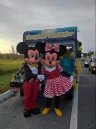 Casal Mickey e Minie