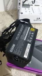 Fonte Cooler master mwe 650w v2 80plus gold pfc ativo