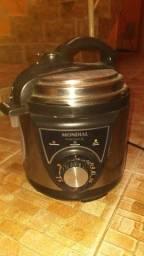 Panela de pressão elétrica Pratic Cook 3L