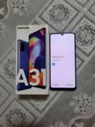 Samsung A31 128gb com Nota e Garantia