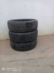 3 pneu aro 14 seminovos