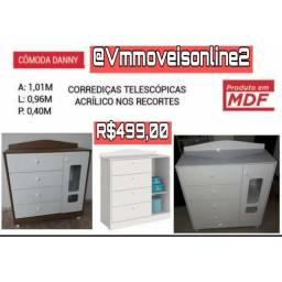 Cômoda Danny Entrega em Aparecida de Goiânia e Goiânia sem taxa Raça bshsh