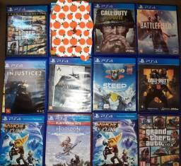Vendo jogos de Playstation 4