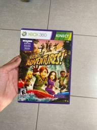 Vendo jogo kinect adventures