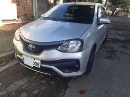 Toyota etios 1.3 2016 modelo 2017  VISTORIADO