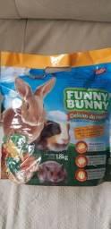 Ração mini coelhos