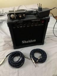 Título do anúncio: Amplificador Sheldon GT 1200 com Pedal Heavy Metal Santo Angelo X-killer 04
