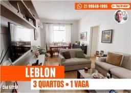 Leblon - 3 Quartos com Vaga