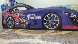 Cama solteirão tematizada Transformers