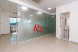 Sala para alugar, 84 m² - Vila Matias - Santos/SP