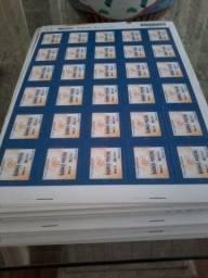 Selos postais 30.000