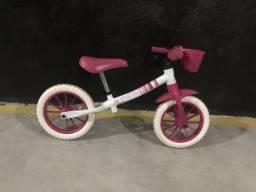 Bicicletade equilíbrio infantil feminina
