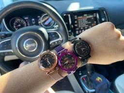 relógios femininos céu estrelado