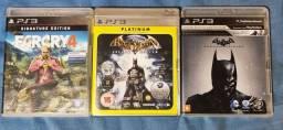 Título do anúncio: 3 Jogos para Playstation 3