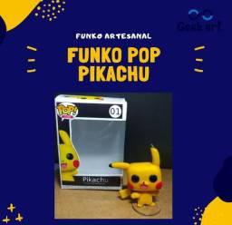 Funko pop artesanal Pikachu