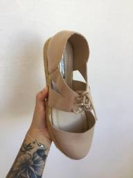 sandália moleca