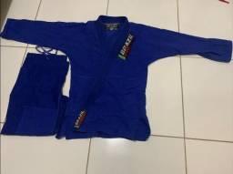 Kimono Azul Brazil Combat A2 (para vender rápido)
