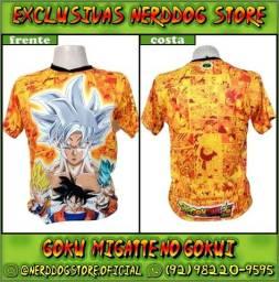 Título do anúncio: Camisas Goku Migatte no Gokui (Dragonball Super) - NerdDog Store
