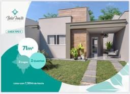 Maravilhosas Casas Planas de 71m² no Bairro Pires Façanha - Eusébio...