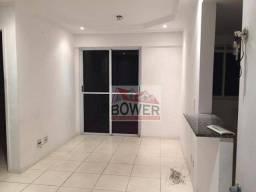 Apartamento com 1 dormitório para alugar, 40 m² por R$ 1.100,00/mês - Alcântara - São Gonç