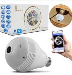 Lâmpada IP wi-fi espiã com câmera grande promoção