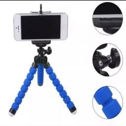 PROMOÇÃO ÚLTIMAS UNIDADES: kit 2 Mini tripe Flexível para celulares e câmeras $ 25,00