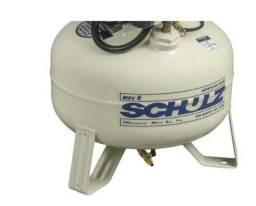 Compressor de ar odontologico Schulz- MSV 6/30 Isento de oleo - 6 Pes 30 Litros 120 Lbs