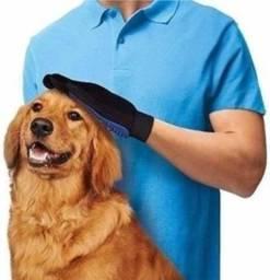 Título do anúncio: Luva tira pelos pet gato cachorro nano magnética