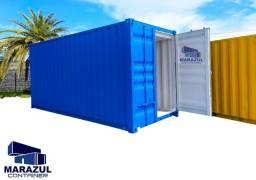 Container 6m DRY pintado e reformado