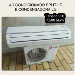 Título do anúncio: Ar Condicionado LG 7.500 BTU 220V Split com Condensadora LG