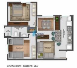Apartamento em Lamenha Pequena, Almirante Tamandaré/PR de 52m² 2 quartos à venda por R$ 18