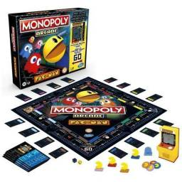 Arcade Pac-Man Monopoly Fliperama Eletrônico