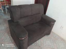 Vende-se sofá novo 15 dias de uso 700 reas com nota fiscal