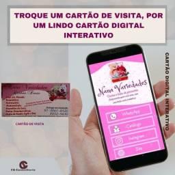 Título do anúncio: Cartão de visita Digital Interativo