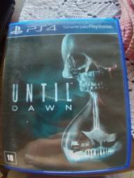 Game PS4 Until Dawn capa azul