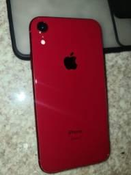iPhone XR VERMELHO 64GB MUITO NOVO