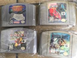 Nintendo 64 jogos