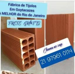 Tijolos Américas 20x30 850,00 Frete grátis