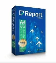 Título do anúncio: RESMA A4 report  sulfite branco 75g