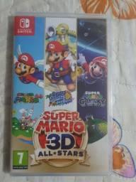 Título do anúncio: Mario 3d all star nintendo switch