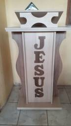 Púlpito Novo em MDF madeirado