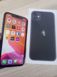 IPhone 11 com 64gb nota caixa garantia de 9 meses Lojas americanas