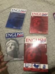 DVD, CD E LIVRO DA LÍNGUA INGLESA