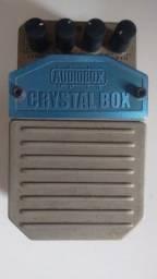 Pedal de guitarra - efeito chorus- Cristal Box Bheringer - usado