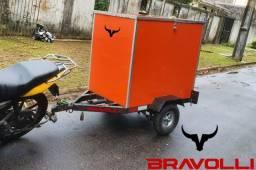 Carretinha Moto - Linha exclusiva BRAVOLLI