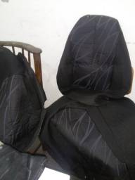 Capas de tecido 400 estalada