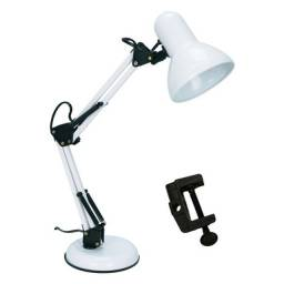 Luminária De Mesa Articulável Modelo Pixar Branca, poucas unidades